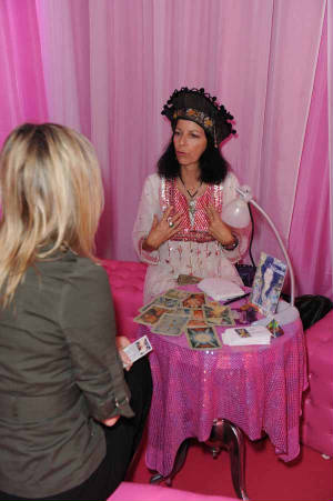Tara Greene Tarot Reader Tea Party Psychic